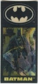 Batman Returns Flicker Cards Toys Dark Knight