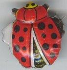 Lady Bug Pins Toys