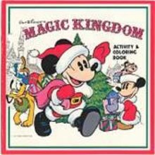 Disney Magic Kingdom Coloring Book Toy