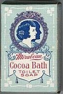 Cocoa Butter Bath Soap Box - 1920s