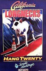 Spuds McKenzie Beer Posters Set