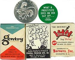X-Rated Pharmacy Collectibles 1950-1960s