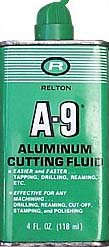 A-9 ALUMINUM CUTTING FLUID CAN / VINTAGE