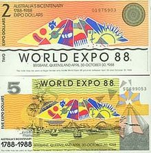 AUSTRALIAN BICENTENARY WORLD EXPO 1988 LEGAL