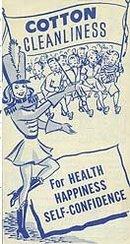 Cotton Cleanliness Booklet 1950 Majorette
