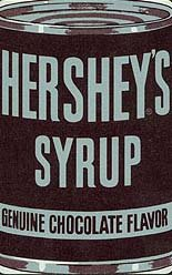 Hershey's Syrup Playing Card