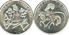 Novelty Naughty Coin Tokns