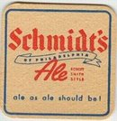 Schmidt's Beer Coaster