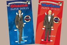 John McCain Paper Doll Toy Set