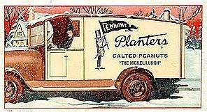 Mr. Peanut Blotter - Vintage Planters Nut