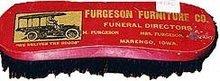 Ferguson Funeral Director Hair Brush - Vintage