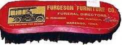 Ferguson Funeral Director Hair Brush - Vintage