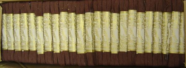 Old Cobbler Alox Brown Shoelaces - 200 vintage