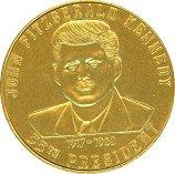 JFK Kennedy Coin - President