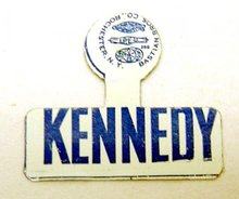 JFK Kennedy Tags - 50 Vintage Political Lapel Pins