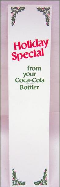 Coca Cola Soda Holiday Store Inserts