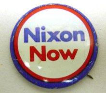 Richard Nixon Pinbacks - 50 Vintage Political