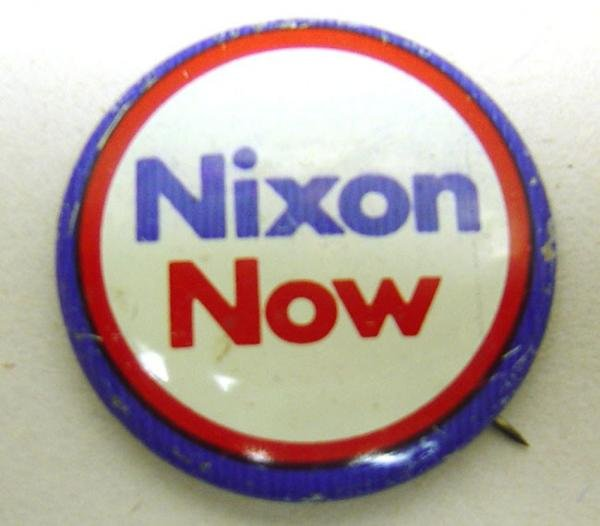 Richard Nixon Pinbacks - 50 Vintage Political
