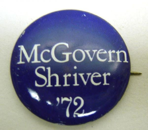 George McGovern Pins - Shriver Political