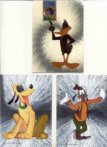 Disney Postcards Greeting Card