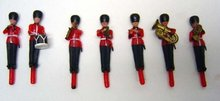 British Soldier Cake Toppers 1960s