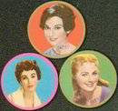 Movie Star Celluloid Toy Mirrors 1950s