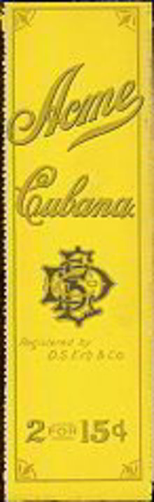 Acme Cubana Cigar Bags - Cuban