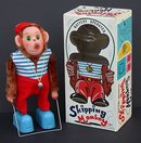 Skipping Monkey Toy - Battery Operated 1960s