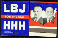 LBJ for USA Matchbook - President