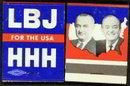 LBJ for USA Matchbook - President