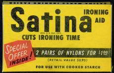 Satina Ironing Aid Full Box