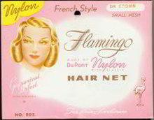 Flamingo Nylon Hair Net 1947