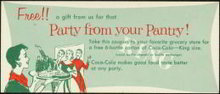 Coca-Cola Soda Coupon 1962