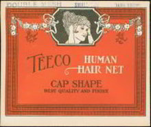 Teeco Human Hair Net Store Display 1930s