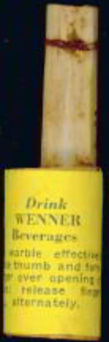 Wenner Bamboo Whistle Toy