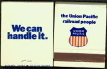 Union Pacific Railroad Matchbook 1960s