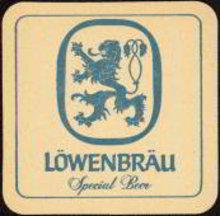 Lowenbrau Beer Coaster 1961