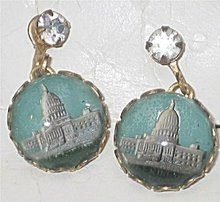 Capitol Building Earrings