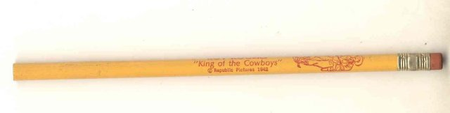 Roy Rogers Pencil 1942