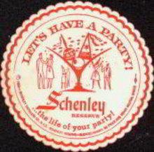 Schenley Distillers Coaster 1964
