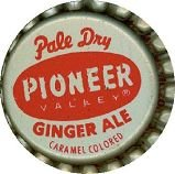 Pioneer Valley Ginger Ale Soda Bottle Caps 1960s
