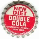 Diet Double Cola Soda Bottle Caps