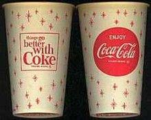 Coca-Cola Snowflake Soda Cup
