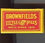 Brownfields Little Pills Medicine Box