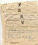 Santa Fe Railroad Freight Bills 1910s