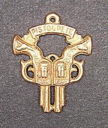 Pistol Pete Maravich Basketball Gun Charm