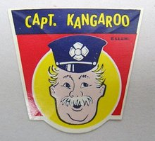 Captain Kangaroo Toy Labels Lot