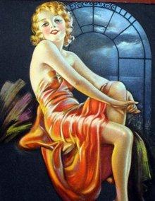 Phillips 66 Pinup Girl Calendar 1940