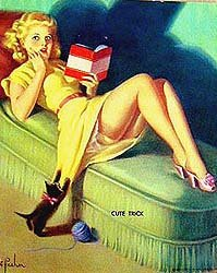 Frahm Pinup Girl Print - Cute Trick