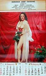 Evelyn West Calendar 1957